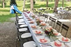 Grieche Nürnberg Hochzeit Tisch