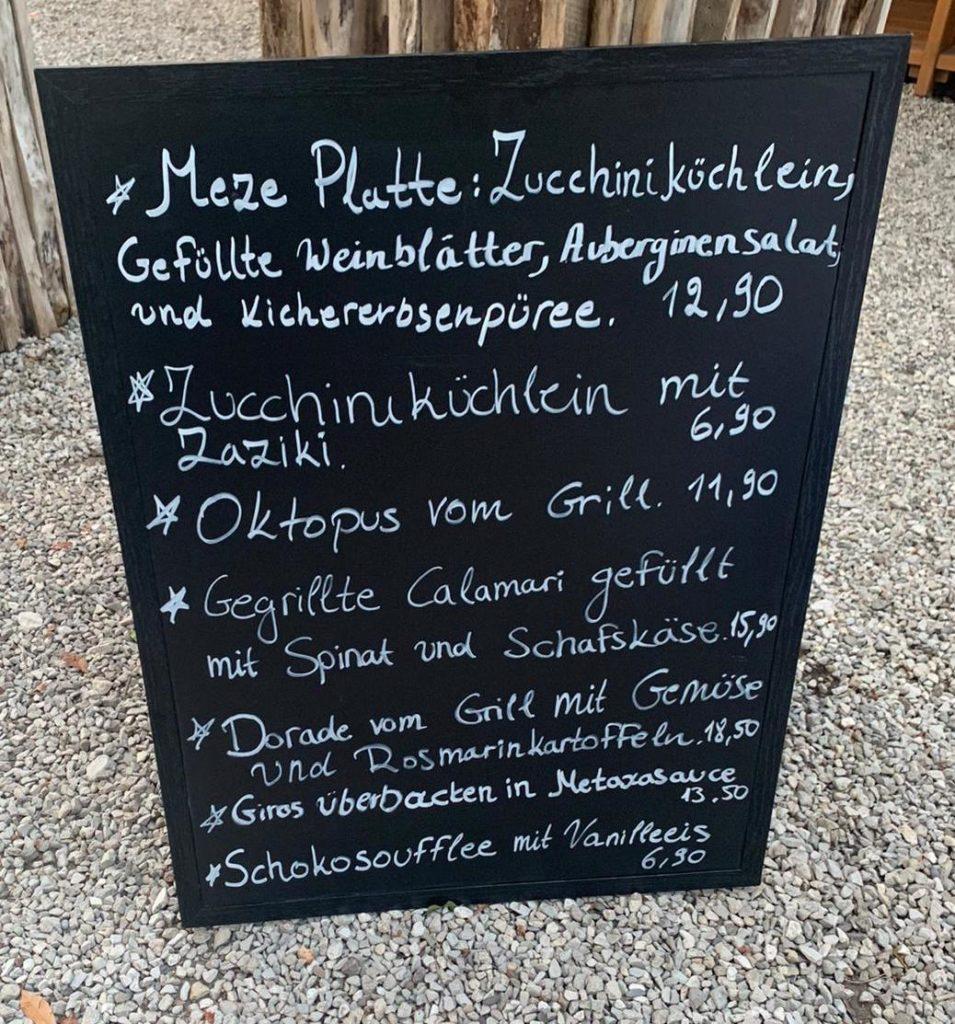 Grieche Nürnberg   Tageskarte   Speisekarte
